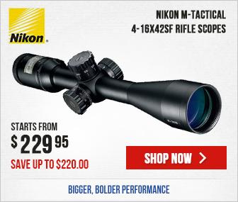 Nikon M-TACTICAL Riflescope 4-16X42SF