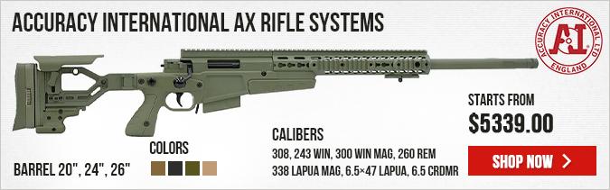Accuracy International AX Rifle Systems