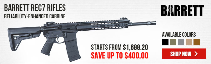 Barrett REC7 Rifle Sale - Save Up To $400!