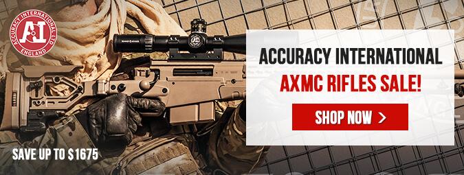 Accuracy International AXMC Rifles - Huge Savings!