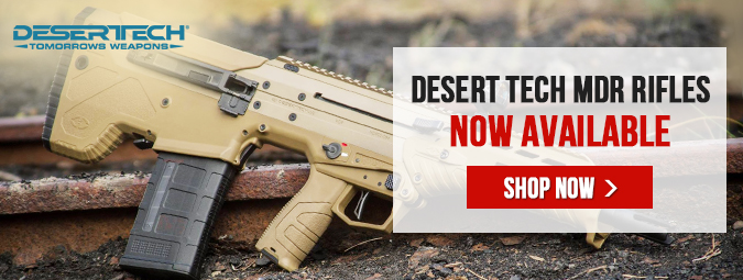 Desert Tech MDR Rifles - Now Available