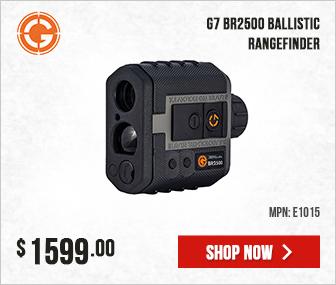 Gunwerks G7 BR2500 Ballistic Rangefinder (MOA and Mil) E1015