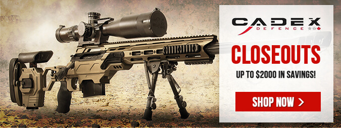 Cadex Precision Rifle Closeouts!