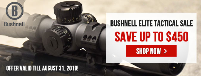 Bushnell Elite Tactical Sale - Save Up To $450