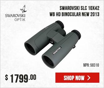 Swarovski SLC 10x42 WB HD Binocular 58310