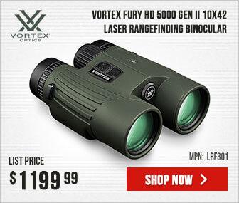 Vortex Fury HD 5000 Gen II 10x42 Binocular
