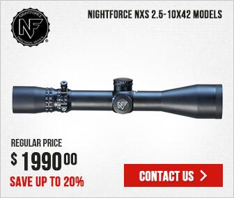 Nightforce NXS 2.5-10x42