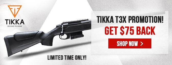 Tikka T3x Promotion!