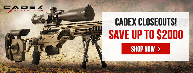 Cadex Closeouts! - Save up to $2000