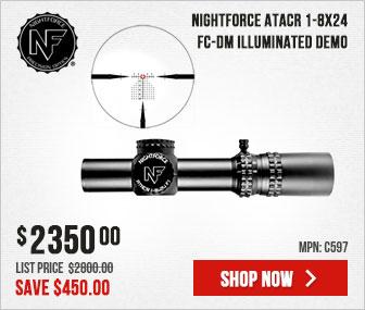 Nightforce ATACR 1-8x24 C597