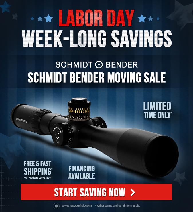 Schmidt Bender Moving Sale