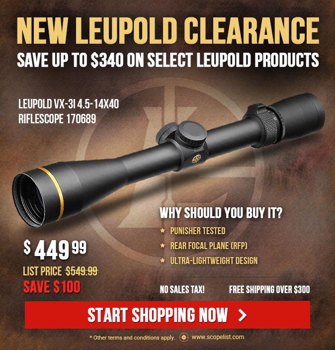 New Leupold Clearance