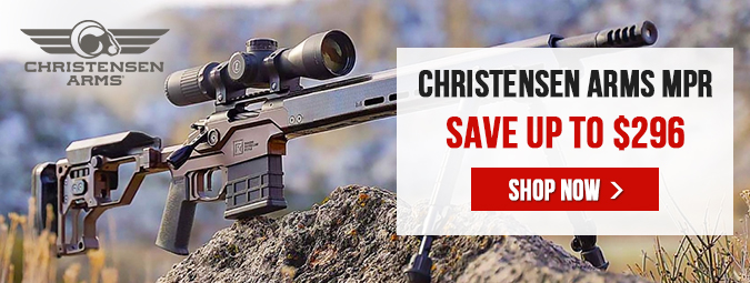 Christensen Arms Modern Precision Rifles