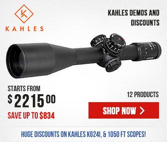 Kahles Demos & Discounts