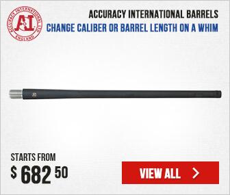 Accuracy International Barrels