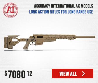 Accuracy International AX Rifle