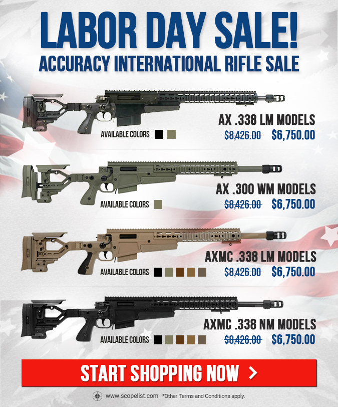 Accuracy International Rifle Sale