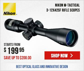 Nikon M-TACTICAL Riflescope 3-12x42SF