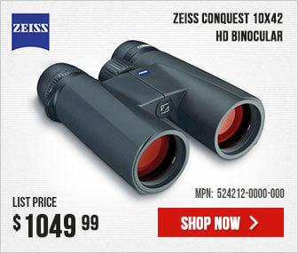 Zeiss Conquest 10x42 HD Binocular