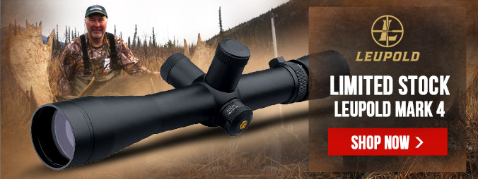Price Drops on Leupold Mark 4 Scopes - Limited Time Offer
