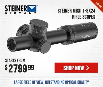 Steiner M8Xi 1-8x24 Rifle Scopes