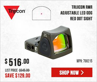 Trijicon RMR Sight (LED) - 3.25 MOA Red Dot w/Adj Brightness-CK ODG