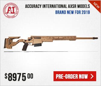 Accuracy International AXSR Folding Rifles
