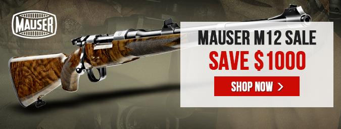 Mauser M12 Sale - Save $1000