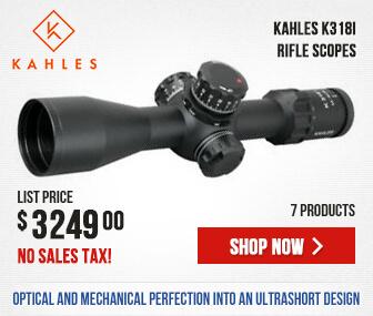 Kahles K318i Rifle Scopes