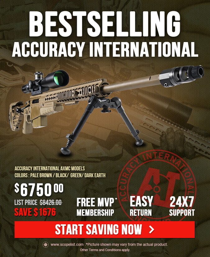 Accuracy International AXMC Rifles