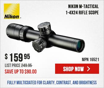 Nikon M-TACTICAL Riflescope 1-4X24 Matte MK1-MOA 16521