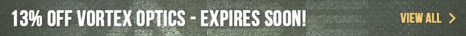 13% Off Vortex Optics - Use Coupon VORTEX13 - Expires Soon!