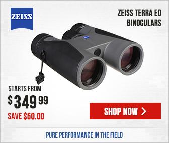 Zeiss Terra ED Binoculars - $50 Off In-Stock Models