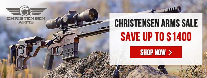 Christensen Arms Sale