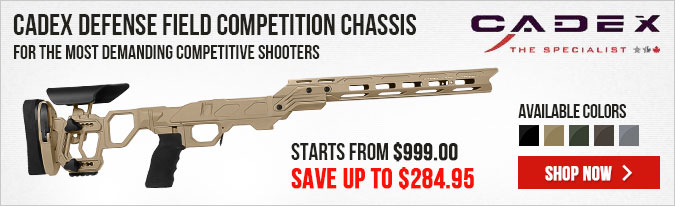 Cadex Defense Field Competition Chassis