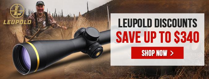 Leupold Discounts - Save Up To $340