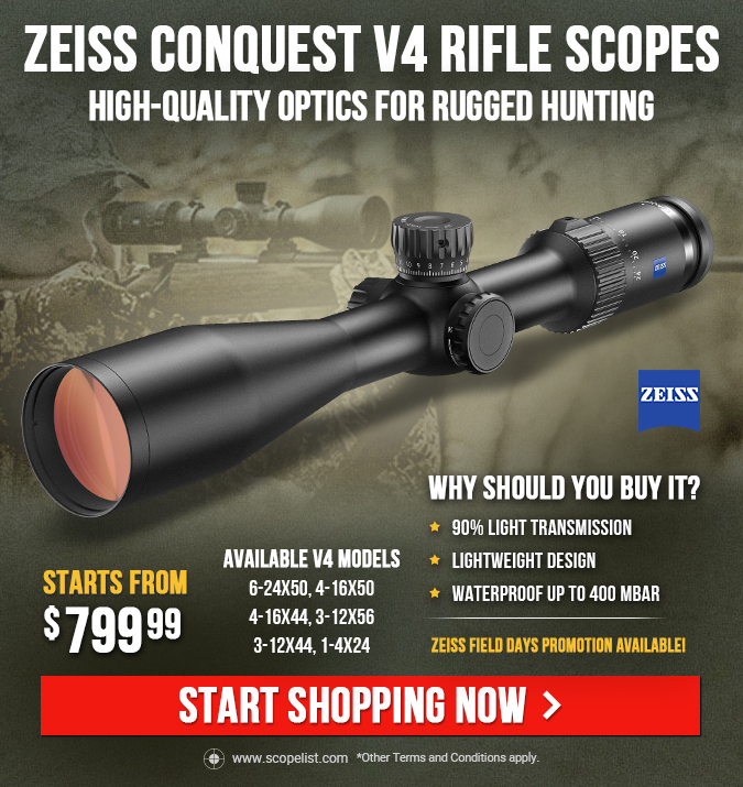 Zeiss Conquest V4 Rifle Scopes