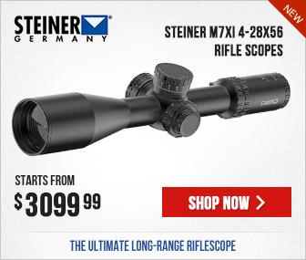 Steiner M7Xi 4-28x56 Rifle Scopes