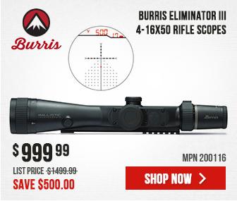 Burris Eliminator III 4-16x50 X96