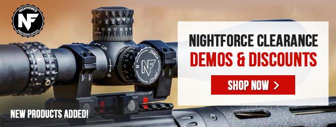 New Nightforce Clearance/Demos