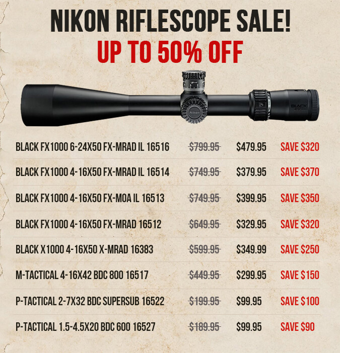 Nikon Closeouts - Up To 50% Off