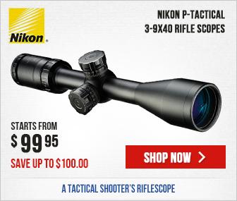 Nikon P-TACTICAL 3-9X40