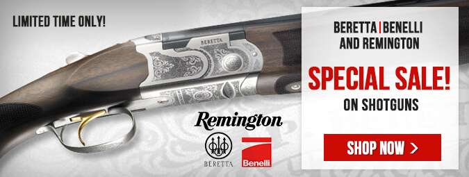 Special Sale on Shotguns