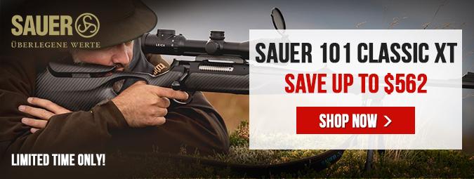 Sauer 101 Classic XT Rifle Discounts