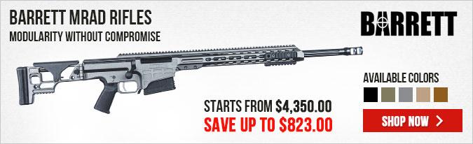 Barrett MRAD Rifles - Save Up to $823