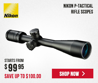 Nikon P-TACTICAL Riflescopes