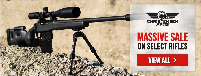 Barret demo rifles