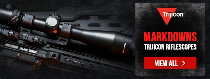 Markdowns on Trijicon Riflescopes