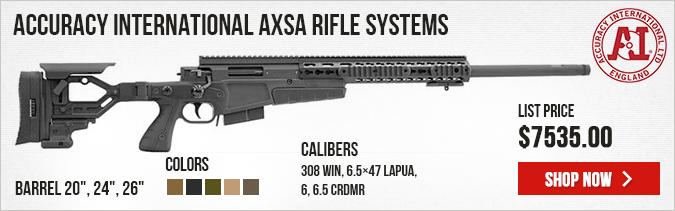 Accuracy International AXSA (Short Action) Rifle Systems