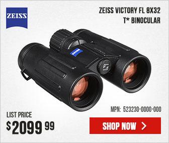 Zeiss Victory FL 8x32 T* Binocular